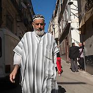Algeria, Annaba . Louis phillipe street in the gun square area     / rue louis phillipe dans quartier de la place d arme   Bone  Algerie  Annaba 023