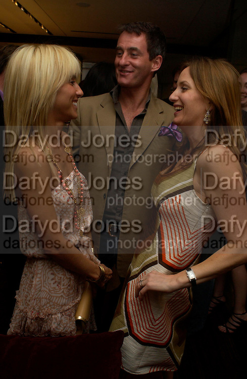 Princess Alexandra von Furstenburg, Tim Jeffries and Emily Oppenheimer. Book launch of ' The Russian House'  by Ella Krasner at De Beers. 50 Old Bond St. London W1. ONE TIME USE ONLY - DO NOT ARCHIVE  © Copyright Photograph by Dafydd Jones 66 Stockwell Park Rd. London SW9 0DA Tel 020 7733 0108 www.dafjones.com
