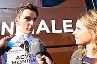 Romain Bardet - AG2R / Marion Rousse - 01.02.2015 - Grand Prix La Marseillaise -<br />Photo : Jean Michel Bancet / Icon Sport