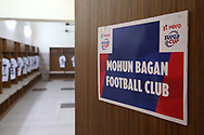 Mohun Bagan A.C. dressing room during the 2nd semi final match of the Hero Super Cup between Mohun Bagan and Bengaluru FC held at the Kalinga Stadium, Bhubaneswar, India on the 17th April 2018<br /> <br /> Photo by: Deepak Malik / SPORTZPICS