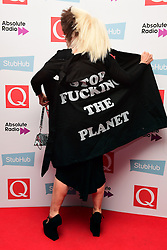 EDITORS NOTE - SLOGAN - Debbie Harry attending the Stubhub Q Awards 2016, in association with Absolute Radio, at the Roundhouse, London. PRESS ASSOCIATION Photo. Picture date: Wednesday 2 November 2016. Photo credit should read: Ian West/PA Wire.