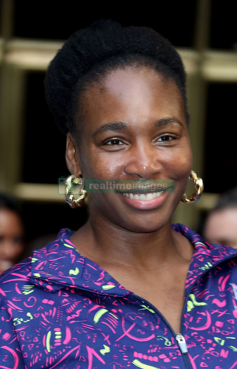 August 23, 2018 - New York City, New York, U.S. - Tennis player VENUS WILLIAMS attends the .2018 Lotte Palace Invitational Badminton Tournament held at the Lotte New York Palace. (Credit Image: © Nancy Kaszerman via ZUMA Wire)