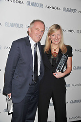 SARAH BURTON and FRANCOIS-HENRI PINAULT at the Glamour Women of The Year Awards 2011 held in Berkeley Square, London W1 on 7th June 2011.