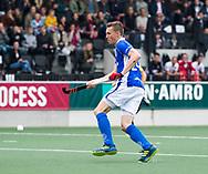 AMSTELVEEN -  Philip Meulenbroek (Kampong) tijdens  de  eerste finalewedstrijd van de play-offs om de landtitel in het Wagener Stadion, tussen Amsterdam en Kampong (1-1). Kampong wint de shoot outs.   COPYRIGHT KOEN SUYK