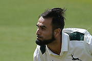 Imran Tahir headshot during the Specsavers County Champ Div 1 match between Nottinghamshire County Cricket Club and Hampshire County Cricket Club at Trent Bridge, West Bridgford, United Kingdom on 13 August 2016. Photo by Simon Trafford.