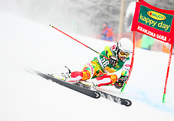 Albert Popov of Bulgaria competes during 1st run of Men's GiantSlalom race of FIS Alpine Ski World Cup 57th Vitranc Cup 2018, on March 3, 2018 in Kranjska Gora, Slovenia. Photo by Ziga Zupan / Sportida