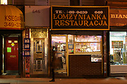 6 March 2013. Brooklyn, NY. Lomzynianka Restauracja in Greenpoint. 3/6/2013. Photo by Gabrielle Sierra/CUNY Wire Service