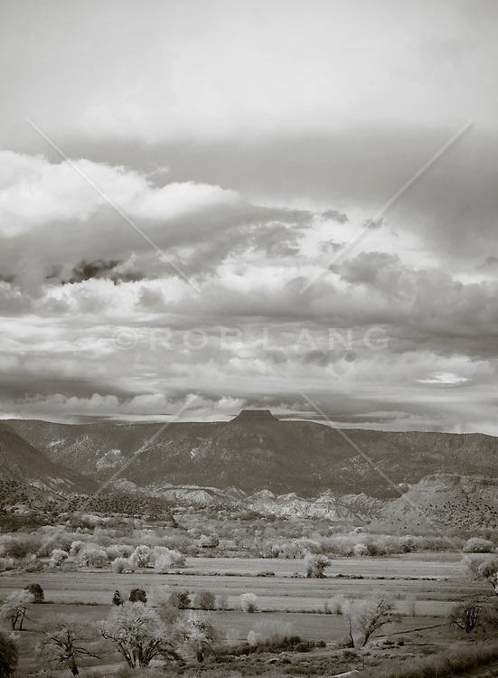 View of Cerro Pedernal, Abiquiu, NM