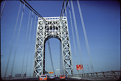 Crossing George Washington Bridge on the way to the Grateful Dead at Giants Stadium on September 2, 1978
