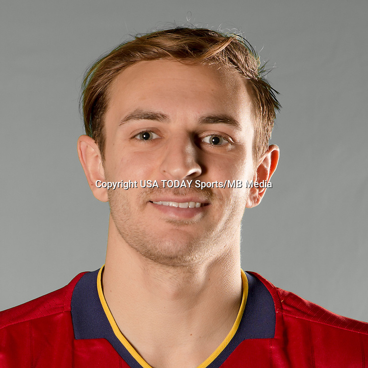 Feb 25, 2016; USA; Real Salt Lake player Max Lachowecki poses for a photo. Mandatory Credit: USA TODAY Sports