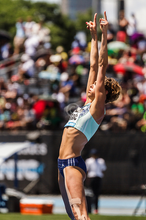 adidas Grand Prix Diamond League Track & Field: womens high jump, Blanka Vlasic
