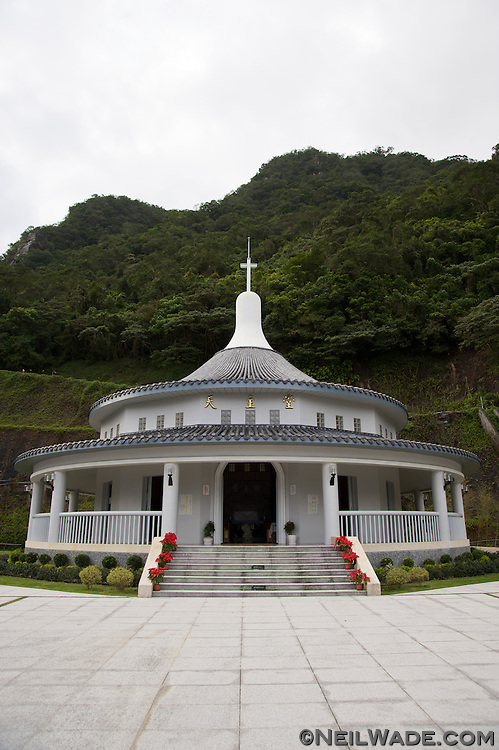 The St. Maria Villa Catholic Church in Jiaosi, Taiwan.