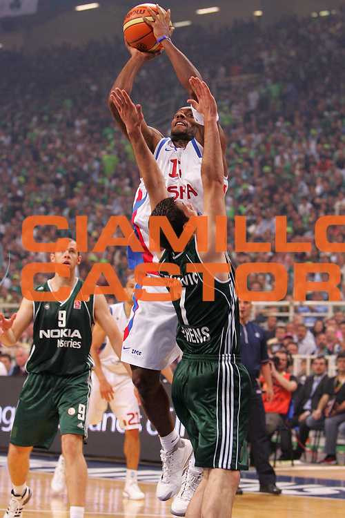 DESCRIZIONE : Atene Athens Eurolega Euroleague 2006-07 Final Four Finale Panathinaikos Atene Cska Mosca <br /> GIOCATORE : Torres <br /> SQUADRA : Cska Mosca <br /> EVENTO : Eurolega 2006-2007 Final Four Finale <br /> GARA : Panathinaikos Atene Cska Mosca <br /> DATA : 06/05/2007 <br /> CATEGORIA : Tiro <br /> SPORT : Pallacanestro <br /> AUTORE : Agenzia Ciamillo-Castoria/S.Silvestri