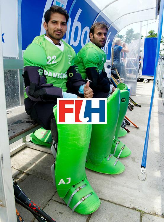 BREDA - Rabobank Hockey Champions Trophy<br /> India - Pakistan<br /> Photo: Amjad Ali and Imran butt.<br /> COPYRIGHT WORLDSPORTPICS FRANK UIJLENBROEK