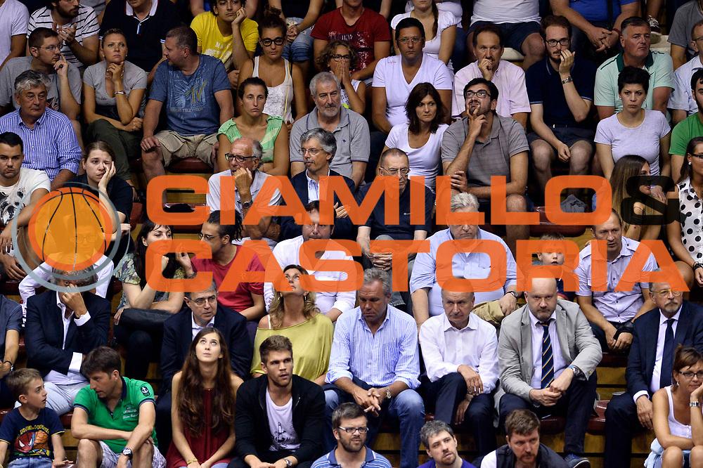 DESCRIZIONE : Trieste Nazionale Italia Uomini Torneo internazionale Italia Canada Italy Canada<br /> GIOCATORE : Tifosi<br /> CATEGORIA : Tifosi<br /> SQUADRA : Italia Italy<br /> EVENTO : Torneo Internazionale Trieste<br /> GARA : Italia Canada Italy Canada<br /> DATA : 03/08/2014<br /> SPORT : Pallacanestro<br /> AUTORE : Agenzia Ciamillo-Castoria/GiulioCiamillo<br /> Galleria : FIP Nazionali 2014<br /> Fotonotizia : Trieste Nazionale Italia Uomini Torneo internazionale Italia Canada Italy Canada