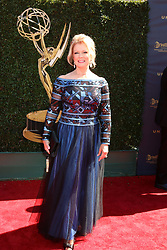 April 30, 2017 - Pasadena, CA, USA - LOS ANGELES - APR 30:  Mary Hart at the 44th Daytime Emmy Awards - Arrivals at the Pasadena Civic Auditorium on April 30, 2017 in Pasadena, CA (Credit Image: © Kathy Hutchins/via ZUMA Wire via ZUMA Wire)