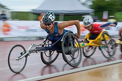 06/08/2017; Croft, Phillip, T53, USA, Yamakita, Taishi, T54, JPN at 2017 World Para Athletics Junior Championships, Nottwil, Switzerland