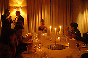Viscountess Duplin at head of table. The  Royal Caledonian Ball in aid of The Royal Caledonian Ball Trust held at The Grosvenor House Hotel, Park Lane, London W1.  28  April 2005. ONE TIME USE ONLY - DO NOT ARCHIVE  © Copyright Photograph by Dafydd Jones 66 Stockwell Park Rd. London SW9 0DA Tel 020 7733 0108 www.dafjones.com