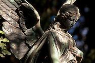 Europa, Deutschland, Koeln, Engel auf dem Melatenfriedhof.<br /><br />Europe, Germany, Cologne, angel at the Melaten cemetery.