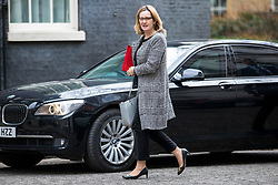 © Licensed to London News Pictures. 20/03/2018. London, UK. Home Secretary Amber Rudd on Downing Street for the Cabinet meeting. Photo credit: Rob Pinney/LNP