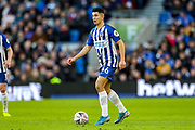Brighton & Hove Albion midfielder Steven Alzate (46) during the The FA Cup match between Brighton and Hove Albion and Sheffield Wednesday at the American Express Community Stadium, Brighton and Hove, England on 4 January 2020.