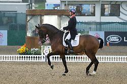 Hester Carl, (GBR), Nip Tuck<br /> CDI3* Grand Prix <br /> Royal Windsor Horse Show - Windsor 2015<br /> © Hippo Foto - Jon Stroud