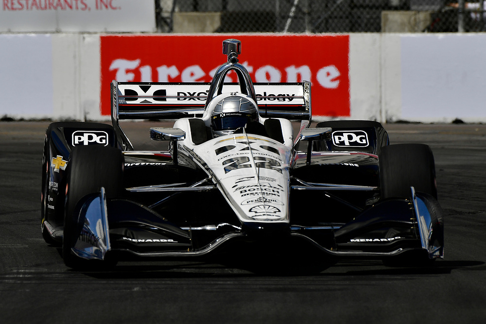 Simon Pagenaud, Team Penske Chevrolet<br /> Friday 13 April 2018<br /> Toyota Grand Prix of Long Beach<br /> Verizon IndyCar Series<br /> Streets of Long Beach, California USA<br /> World Copyright: Scott R LePage<br /> LAT Images