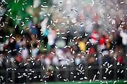 October 30, 2016: Mexican Grand Prix. Confetti for the Mexican GP podium