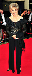 © under license to London News Pictures. 08/03/11.Angela Ripon Attends The Olivier Awards at Theatre Royal Drury Lane London . Photo credit should read ALAN ROXBOROUGH/LNP