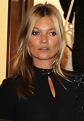 © Licensed to London News Pictures. 14/09/2013. LONDON. UK. Kate Moss, Longchamp - Flagship Store Launch Party, Regent Street, London UK, 14 September 2013. Photo credit : Brett D. Cove/Piqtured/LNP