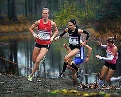 27-11-2011 ATLETIEK: NK CROSS 53e WARANDELOOP: TILBURG<br /> (L-R) Helen Hofstede, Adrienne Herzog, Andrea Deelstra, Agnieska Ciolek POL<br /> ©2011-FotoHoogendoorn.nl