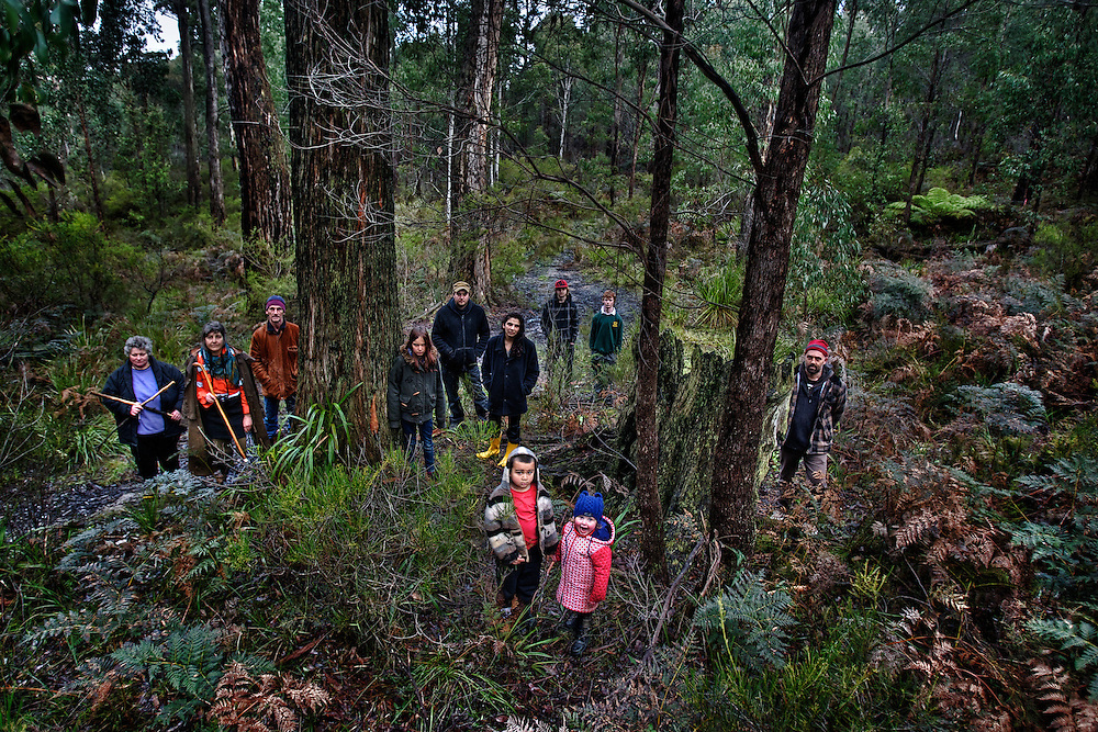 Members of the community around Wombat State Forest at the site of a proposed gold mine. State government has paved the way for an open cut gold mine in the Wombat State Forest near Daylesford. The Community is outraged, claim they weren't consulted, concerns about enviro impact. Pic By Craig Sillitoe CSZ / The Sunday Age.11/08/2012 melbourne photographers, commercial photographers, industrial photographers, corporate photographer, architectural photographers, This photograph can be used for non commercial uses with attribution. Credit: Craig Sillitoe Photography / http://www.csillitoe.com<br />