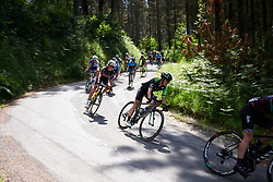 Giorgia Bronzini (ITA) and Hanna Nilsson (SWE) on the descent to Elorrio at Emakumeen Bira 2018 - Stage 4, a 120 km road race starting and finishing in Durango, Spain on May 22, 2018. Photo by Sean Robinson/Velofocus.com