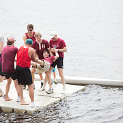 The Harvard Yale alumni row and barbecue is held at The Red Top on June 6, 2015 in Gales Ferry, Connecticut. (Photo by Elan Kawesch/Harvard University)