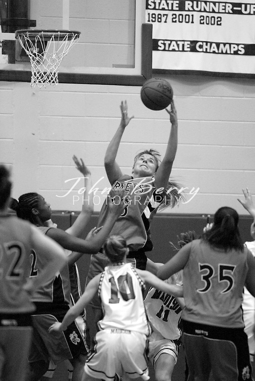 MCHS Varsity Girls Basketball..vs Orange..First Period..December 18, 2004
