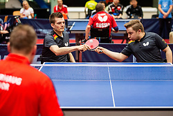 DIDION Joerg and GUERTLER Jan (GER) during Team events at Day 4 of 16th Slovenia Open - Thermana Lasko 2019 Table Tennis for the Disabled, on May 11, 2019, in Dvorana Tri Lilije, Lasko, Slovenia. Photo by Vid Ponikvar / Sportida