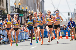 BAA Invitational Road Mile, Uceny leads to win