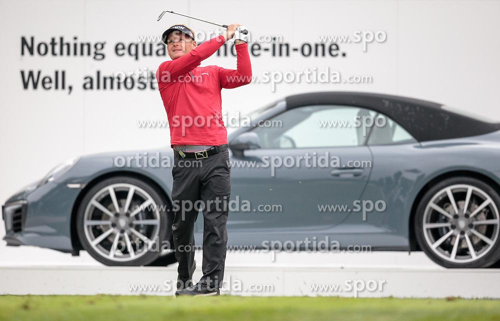 26.09.2015, Beckenbauer Golf Course, Bad Griesbach, GER, PGA European Tour, Porsche European Open, im Bild Soeren Kjeldsen (DEN) // during the European Tour, Porsche European Open Golf Tournament at the Beckenbauer Golf Course in Bad Griesbach, Germany on 2015/09/26. EXPA Pictures © 2015, PhotoCredit: EXPA/ JFK