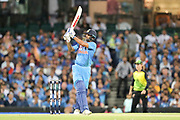 Shikhar Dhawan. T20 international, Australia v India. Sydney Cricket Ground, NSW, Australia, 25 November 2018. Copyright Image: David Neilson / www.photosport.nz