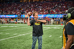 On field presentations during the 2019 College Football Playoff Semifinal at the Chick-fil-A Peach Bowl on Saturday, Dec. 28, in Atlanta. (Harrison McClary via Abell Images for the Chick-fil-A Peach Bowl)