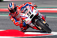 Danilo Petrucci of Italy and Osto Pramac Raciong Team  rides during free practice for the MotoGP of Catalunya at Circuit de Catalunya on June 10, 2017 in Montmelo, Spain.(ALTERPHOTOS/Rodrigo Jimenez)