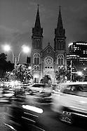 saigon in black & white