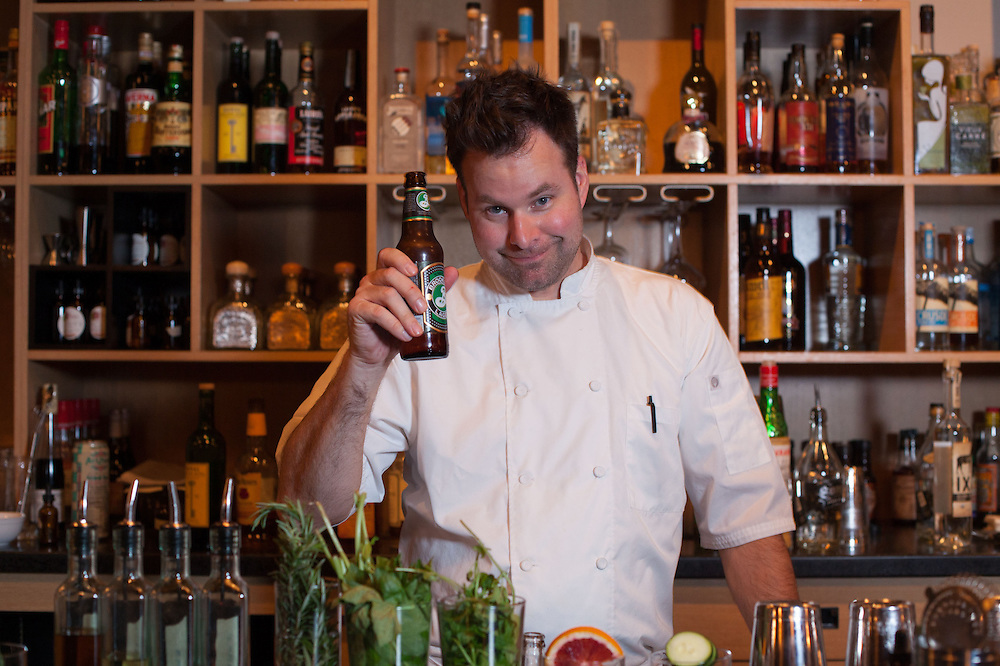 Neal Brown, Chef/ Owner of The Libertine Liquor Bar on East Washington Street downtown. ..Chris Bergin/ For The Starr