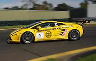 Ted Huglin & John Bowe.Lamborghini Gallardo.Motorsport/2008 Shannon Nationals.Australian GT Championship - Sandown GT Classic.Sandown International Raceway, Melbourne, Victoria.30th November 2008.(C) Joel Strickland Photographics.