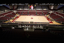 November 1, 2009; Stanford, CA, USA;  The interior of Maples Pavilion before a preseason women's basketball exhibition game between the Stanford Cardinal and Vanguard Lions.