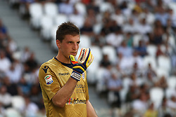 August 19, 2017 - Turin, Italy - Cragno during the Serie A football match n.1 JUVENTUS - CAGLIARI on 19/08/2017 at the Allianz Stadium in Turin, Italy. (Credit Image: © Matteo Bottanelli/NurPhoto via ZUMA Press)