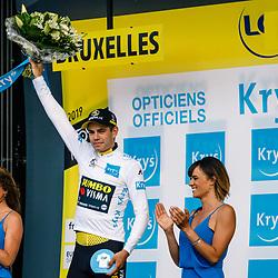 06-07-2019: Wielrennen: Tour de France: Brussel<br />Ploegentijdrit Wout van Aert