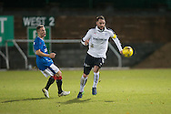 James McPake returns to action after 11 months out with a knee injury during Rangers v Dundee in the SPFL Development League at Forthbank, Stirling - Photo: David Young<br /> <br />  - &copy; David Young - www.davidyoungphoto.co.uk - email: davidyoungphoto@gmail.com