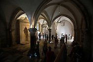 The Cenaculum  Upper Room  The Last Supper in Jesusalem<br /> Photo by Dennis Brack