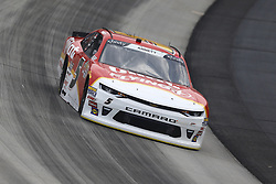 May 4, 2018 - Dover, Delaware, United States of America - Michael Annett (5) brings his car through the turns during practice for the OneMain Financial 200 at Dover International Speedway in Dover, Delaware. (Credit Image: © Chris Owens Asp Inc/ASP via ZUMA Wire)